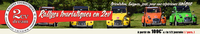 Rallye 2cv dream balade et escapade en 2cv